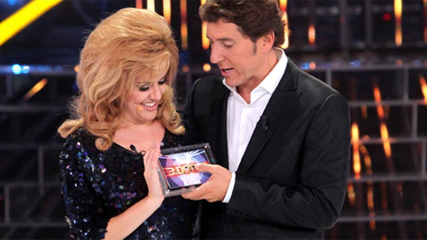 Roko 'Nancy Sinatra' gana la primera gala de 'Tu cara me suena', con Mª del Monte 'Georgie Dann' a la cola