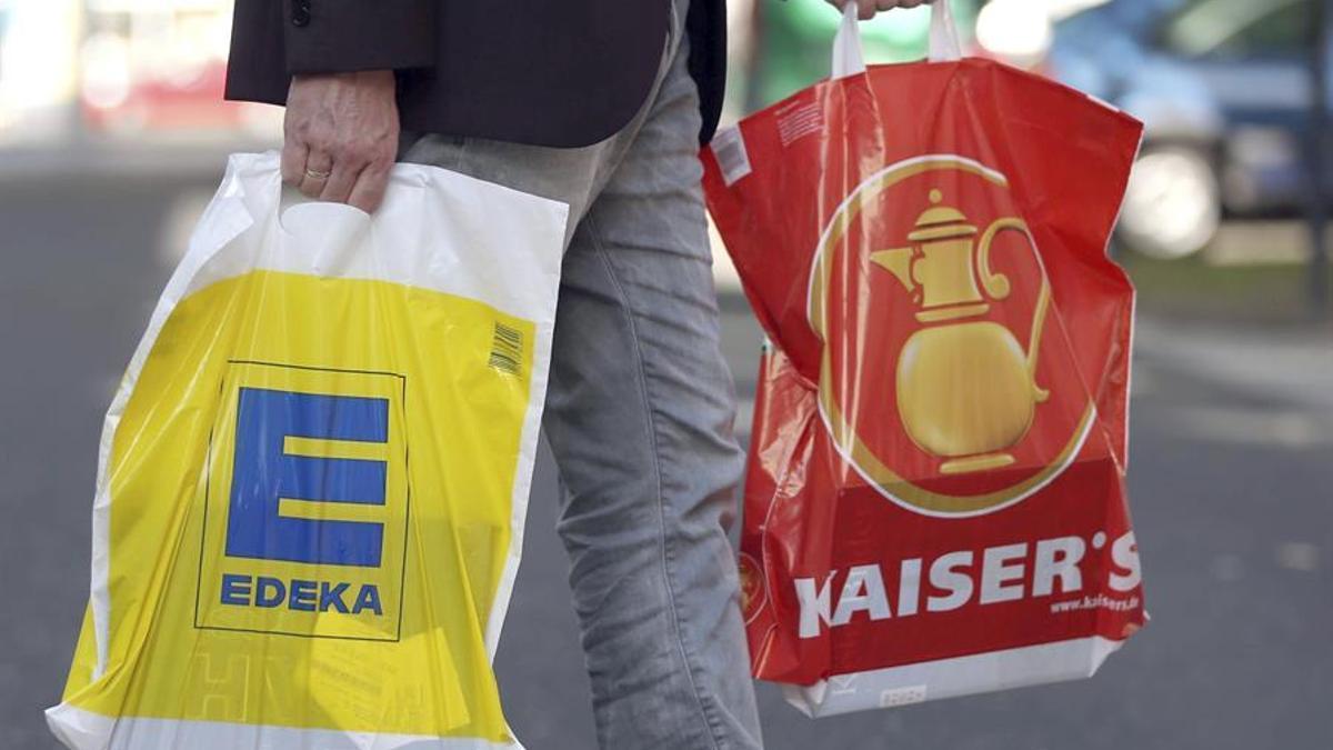 Edeka es una de las principales cadenas de supermercados en Alemania.