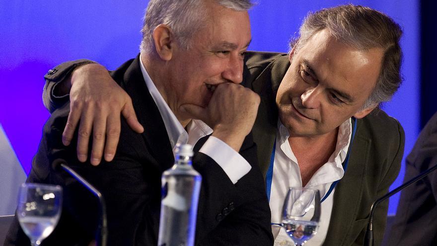Javier Arenas y Esteban González Pons (PP Andaluz)