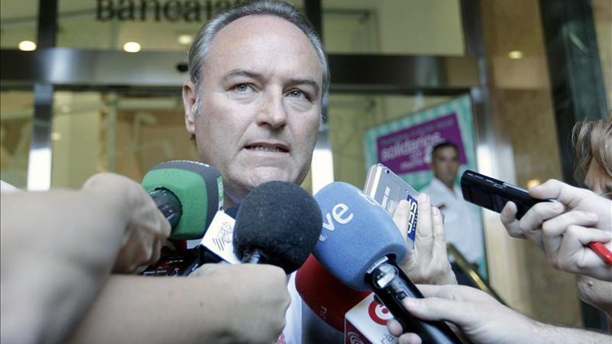 Alberto Fabra reclama un mejor reparto del poco dinero que hay en el Estado