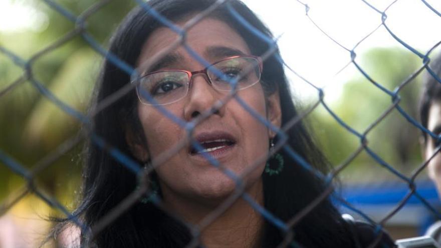 Zoilamérica Ortega Murillo (i), hijastra del presidente de Nicaragua, Daniel Ortega.