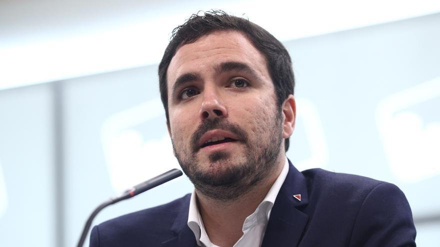 """Alberto Garzón afirma sobre Alsasua que """"no se puede utilizar el terrorismo como arma arrojadiza"""""""