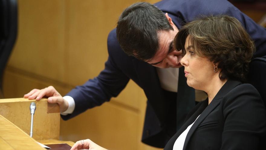 Santamaría explica este lunes en el Senado la aplicación del 155 a tres días de las elecciones catalanas