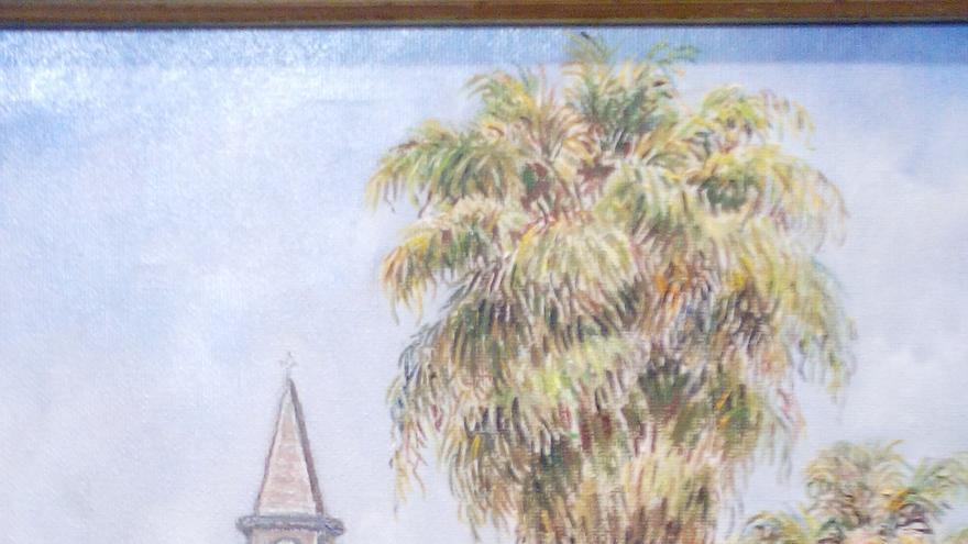 Pintura de la exposición de El Paso.