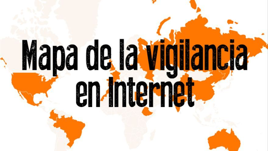 Mapa vigilancia internet