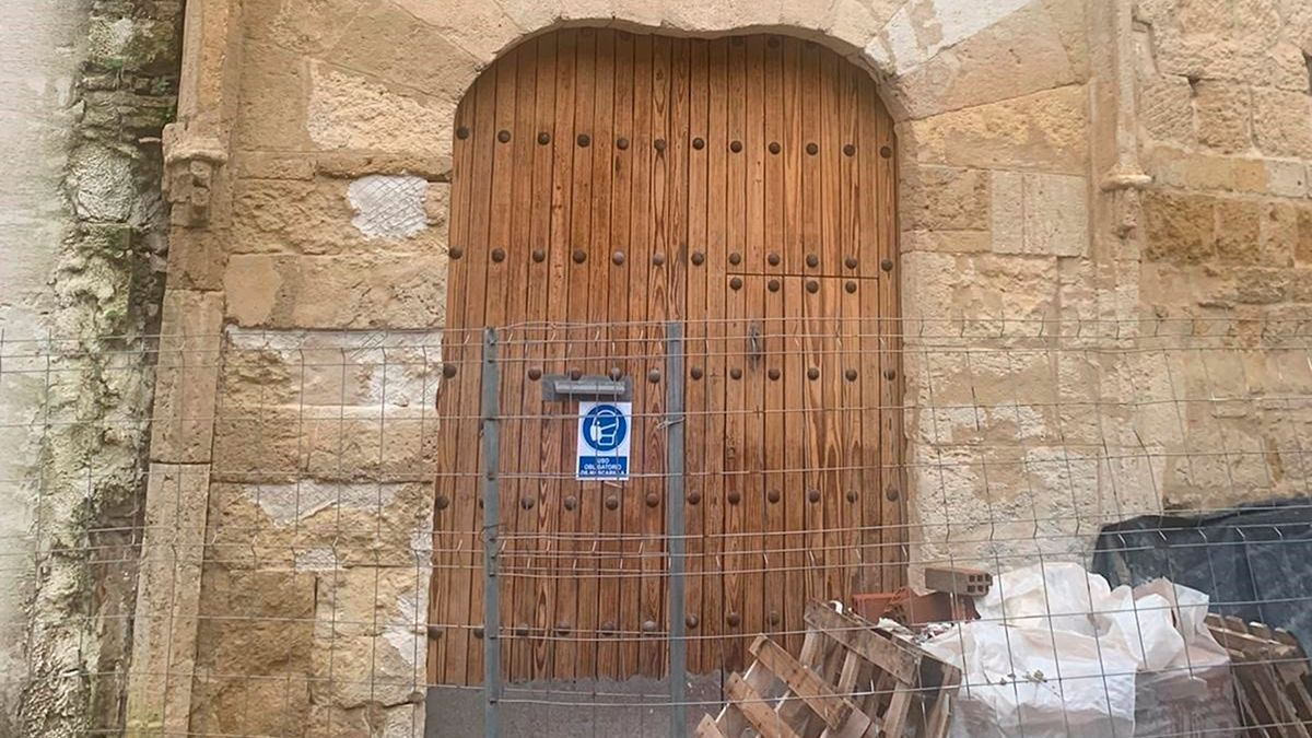 Obras en el Archivo Histórico Municipal.