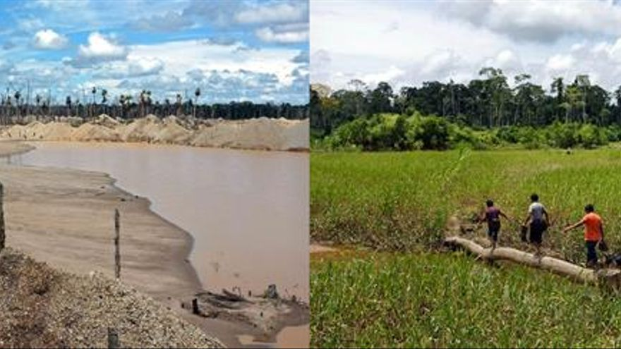 Perú declara emergencia en 11 distritos Amazonía por el alto nivel de mercurio