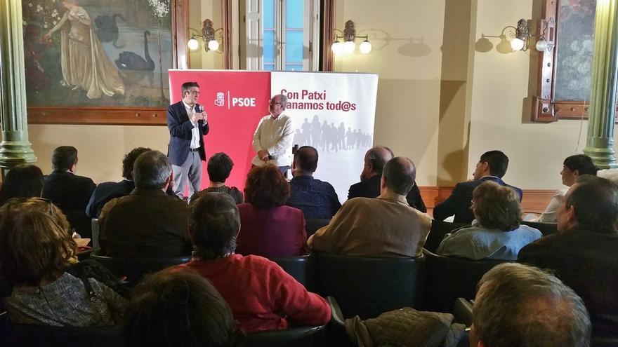 """Patxi López: """"En un partido en el que sigamos divididos da igual quién gane las primarias, porque perderemos todos"""""""