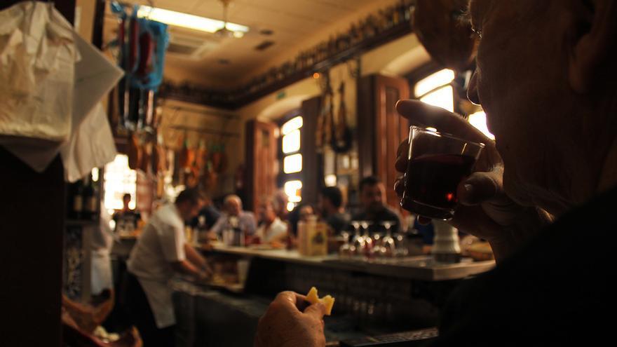 Casa Puga, el mítico bar de Almería. / JUAN MIGUEL BAQUERO