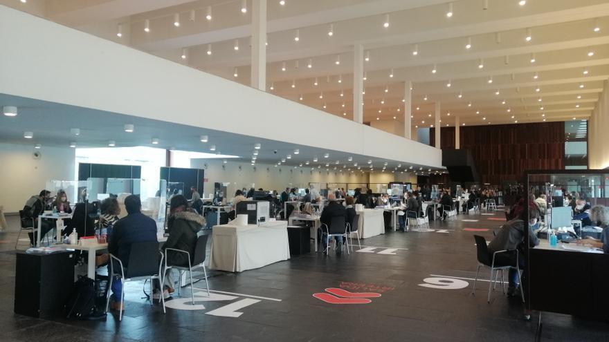Instalaciones habilitadas en Baluarte para la declaración presencial de lar renta