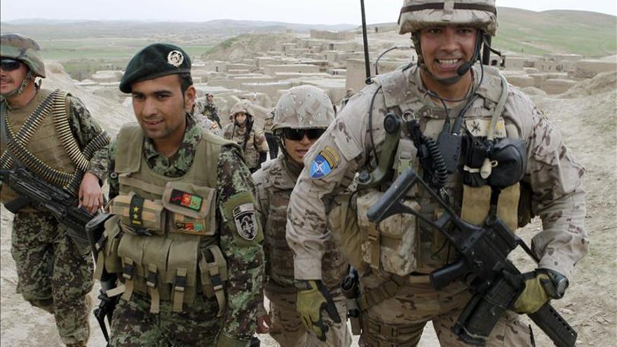 Los militares de la misión de Afganistán ya han votado por correo
