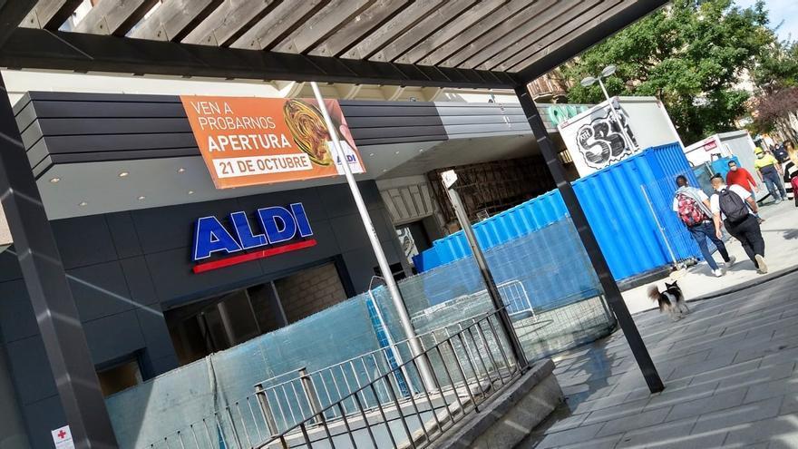 Obras en el supermercado de Fuencarral sobre el Roxy A   SOMOS CHAMBERÍ