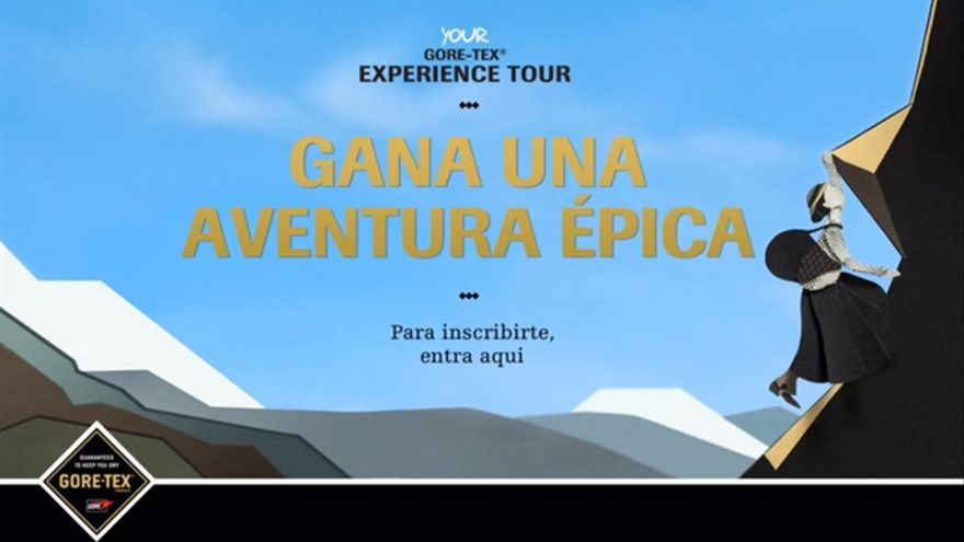 Vídeo Gore-Tex Experience Tour Lucy Walker