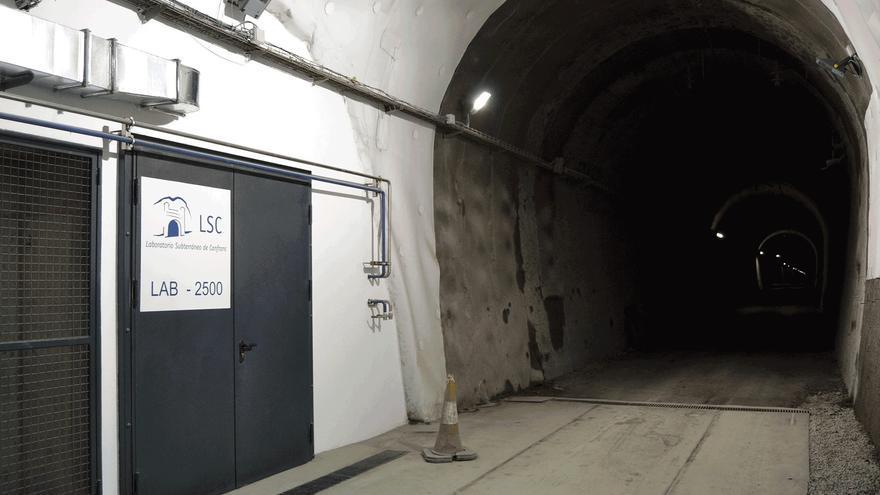 El Gobierno destina 11 millones al Laboratorio Subterráneo de Canfranc