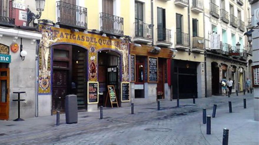 Calle de la Cruz, Madrid.
