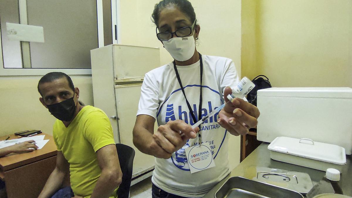 La vacuna Abdala contra el coronavirus, desarrollada por Cuba