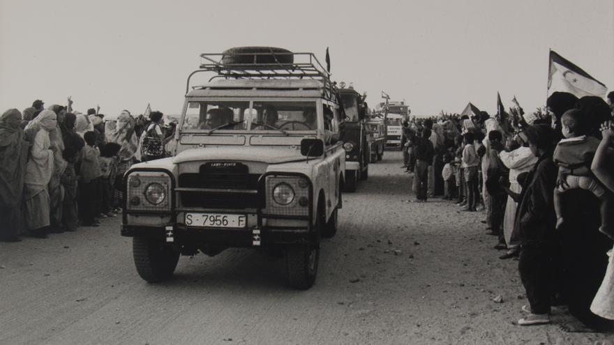 Caravana de Solidaridad con los Refugiados Saharauis.   MANUEL ALCALDE