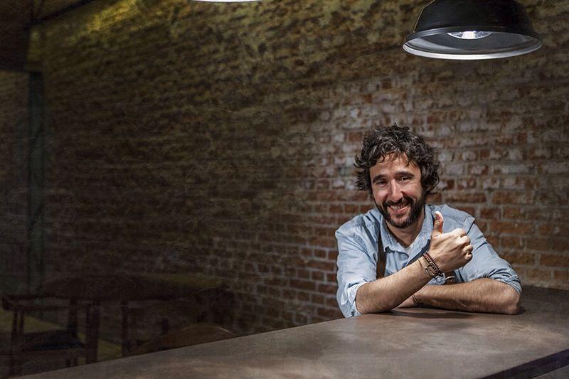 Diego Guerrero en DSTAgE   Fotografía: Alvaro Fernández Prieto para DSTAgE