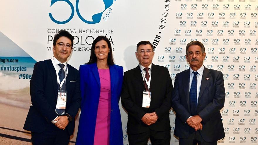 Los podólogos reconocen a Cantabria por integrar la Podología en la sanidad pública