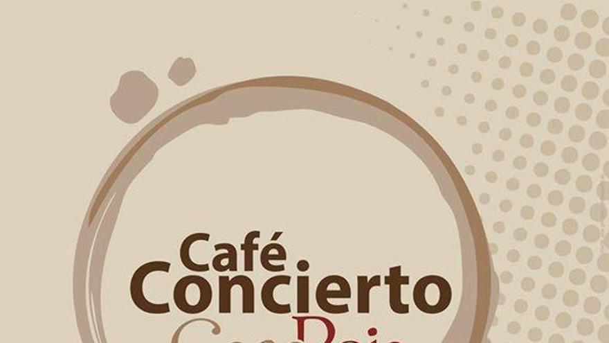 Cartel del 'Café Concierto'.
