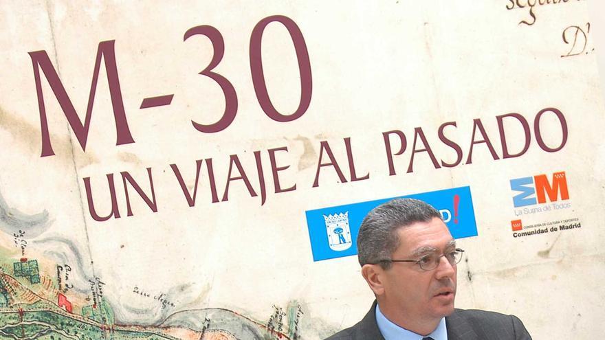 Alberto Ruiz Gallardon. Foto: Web del Ayuntamiento de Madrid