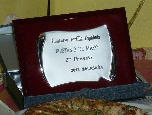 María Dolores Paterna ganó el concurso de tortillas del año pasado