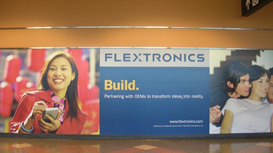 Flextronics es el segundo ODM más importante a nivel mundial, solo por detrás de Foxconn