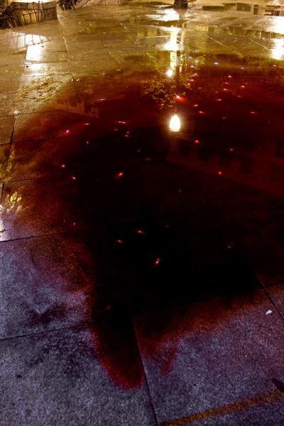 'Sangre' en la plaza de Juan Pujol | Foto: GUSTAVO SANABRIA