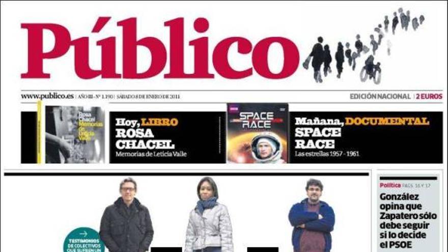 De las portadas del día (08/01/2011) #9