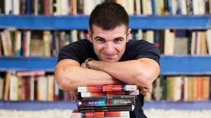 Eloy Moreno, autor de 'Invisible', finalista al Premio Hache 2020 en Cartagena