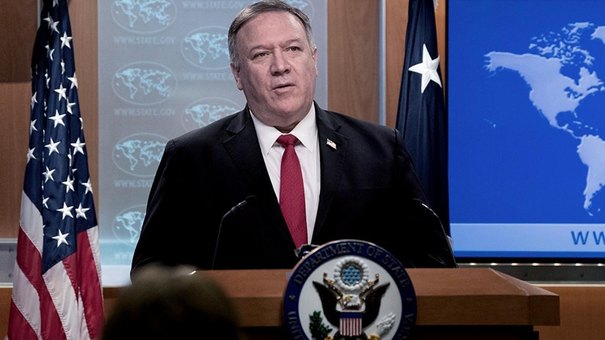 El Secretario de Estado norteamericano, Mike Pompeo.