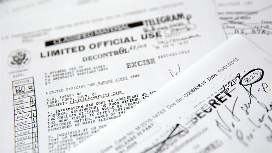 EE.UU. entrega a Chile la última tanda de documentos del asesinato de Letelier