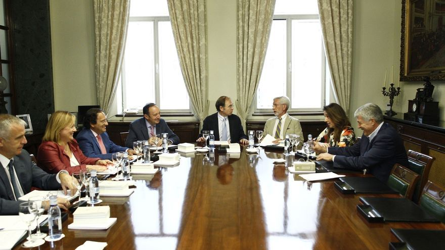 PP recibe esta legislatura del Senado 3,1 millones anuales de subvención, PSOE, 1,3 y Unidos Podemos, medio millón
