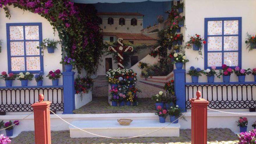 La Cruz de El Puente, en el colegio Gabriel Duque, obtuvo el primer premio en la modalidad 'libre'.