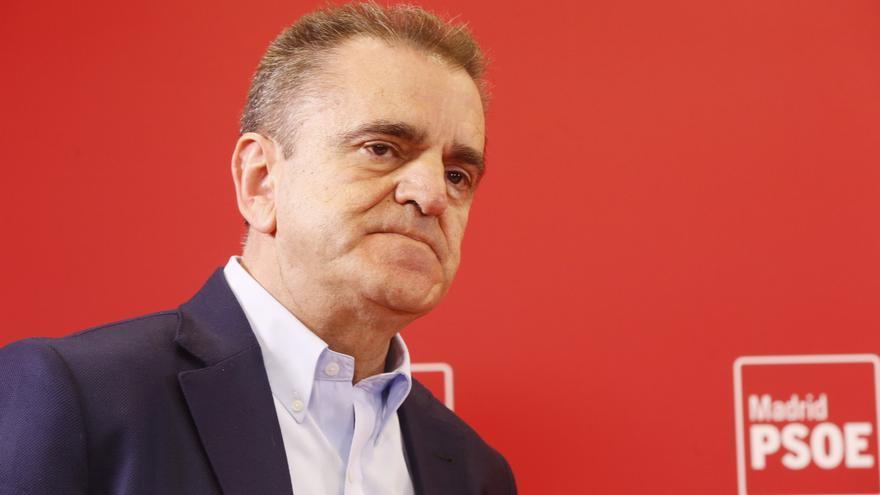 El secretario general del PSOE de Madrid, José Manuel Franco.