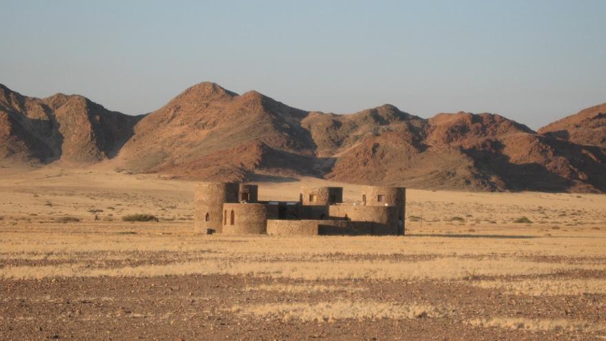 Hotel en el que Blesa se hospedó en el verano de 2007 en Namibia