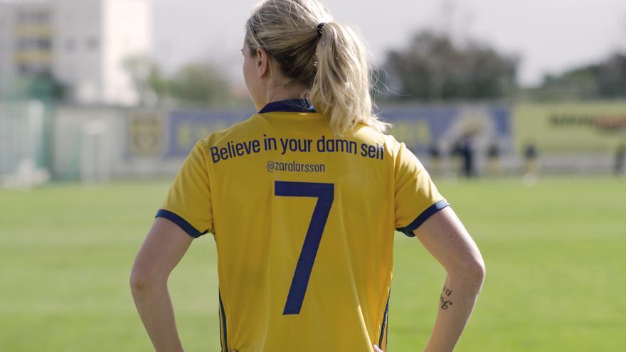La selección sueca de fútbol ha decidido vestir mensajes feministas.