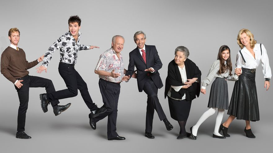 Foto promocional de la última temporada, la número 17, de 'Cuéntame' / RTVE