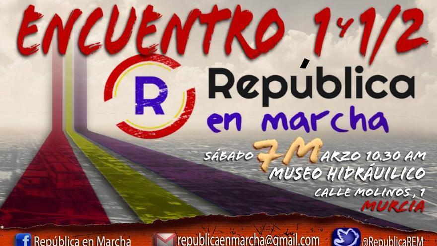 Cartel del encuentro anual de REM en Murcia