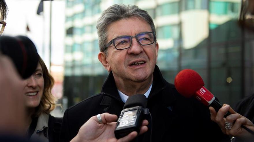 La Justicia francesa abre dos investigaciones contra el partido de Mélenchon