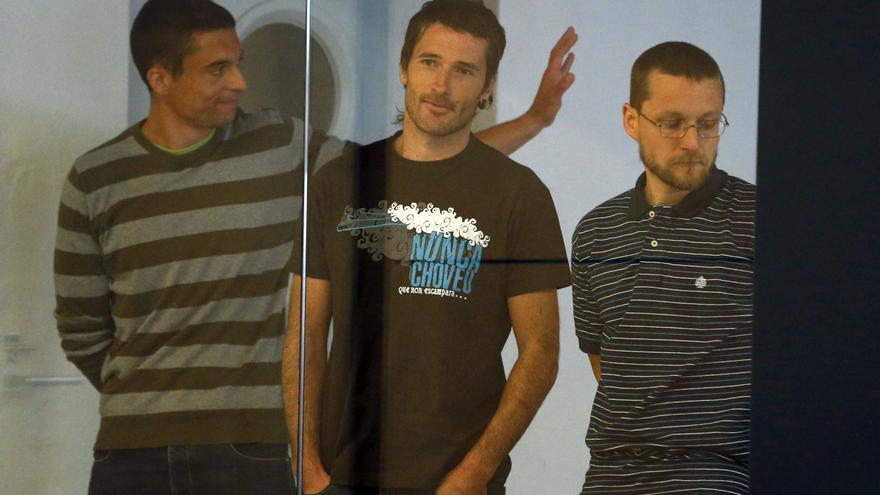 Una imagen del juicio a supuestos miembros de Resistencia Galega.