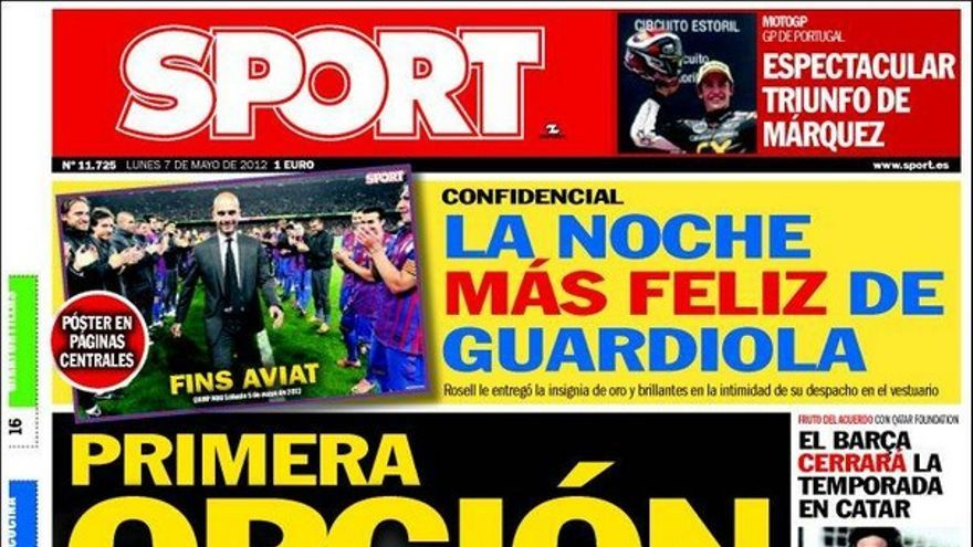 De las portadas del día (07/05/2012) #15