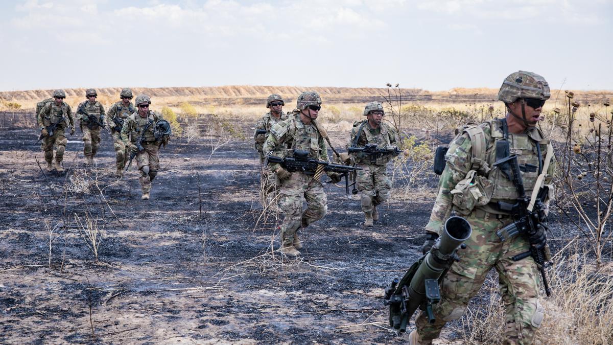 Militares estadoundienses en Irak