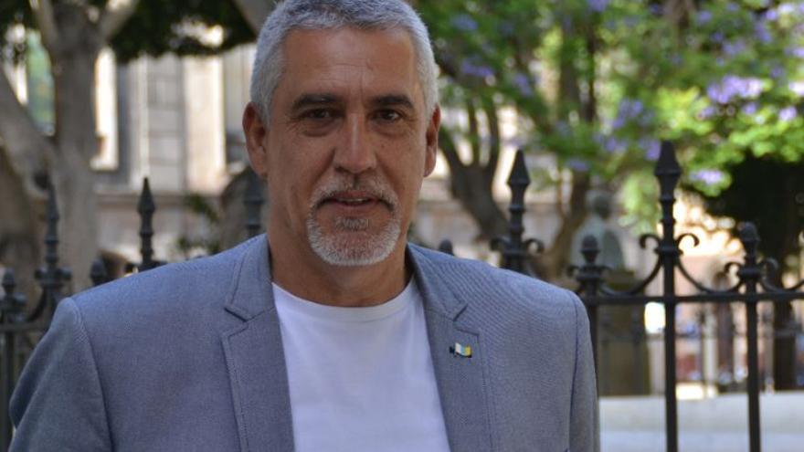 Juan Carlos Castañeda, portavoz de CC en La Laguna