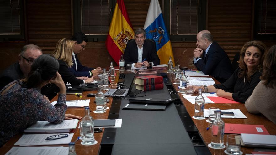 Consejo de Gobierno del pasado 6 de mayo en el que se aprobó la eliminación del copago farmacéutico.