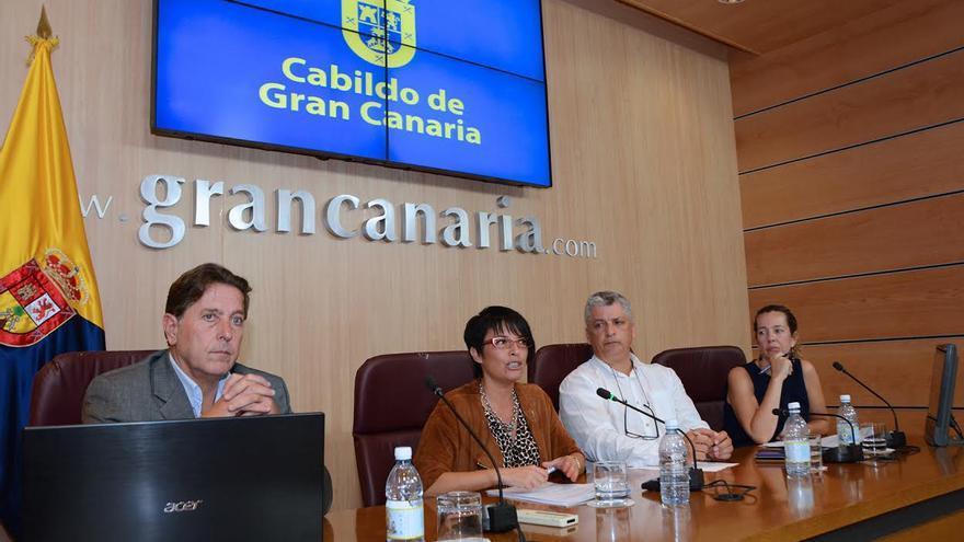 La consejera de Política Social y Accesibilidad del Cabildo de Gran Canaria, Elena Máñez.