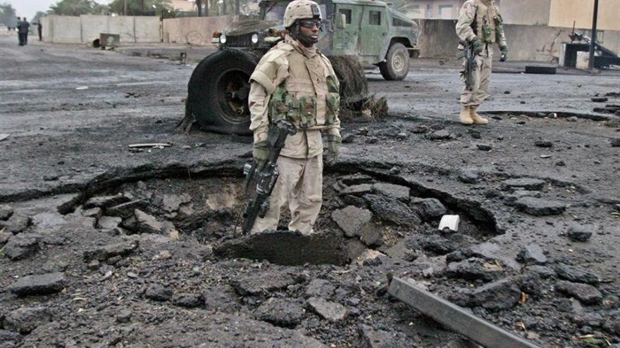 Imagen de la guerra de Irak