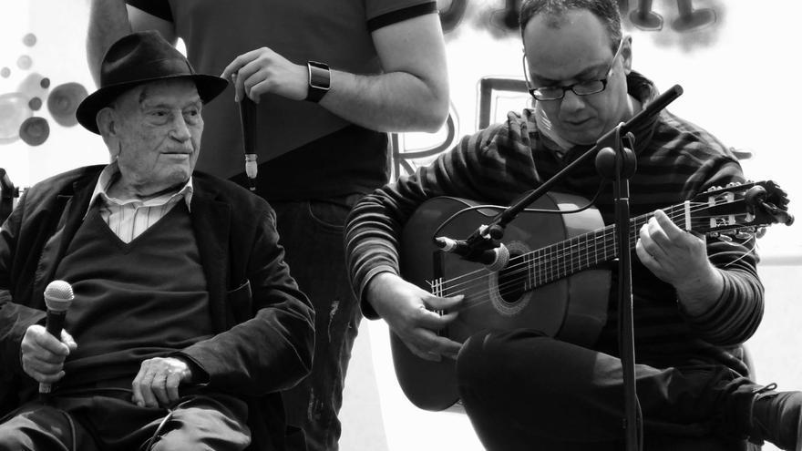 El tío Juan Rita y Tomás García / Foto: Luis Rubio