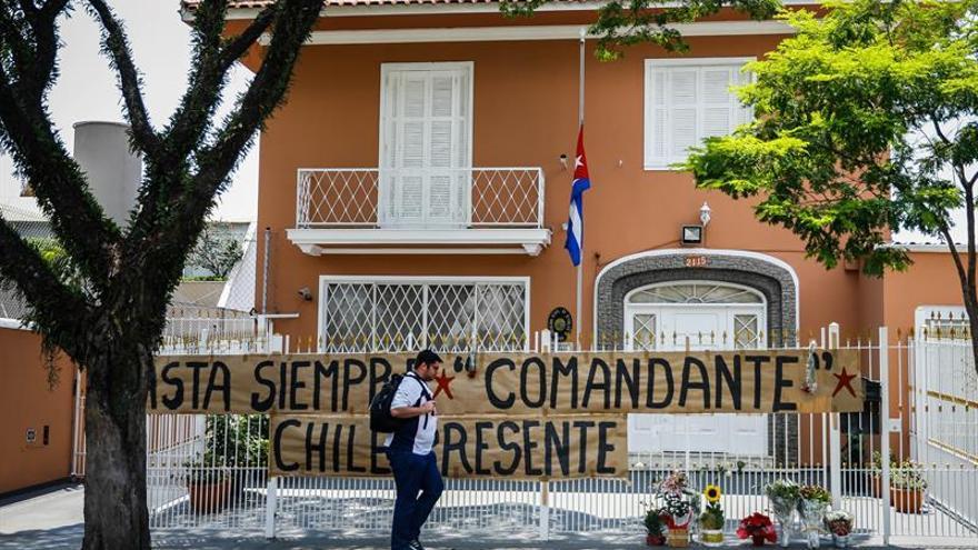 Movimientos sociales brasileños recuerdan a Castro en protesta contra Temer