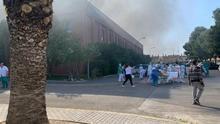 El incendio del Hospital de Hellín se da por extinguido: se registran daños en el sistema de luz y ventilación
